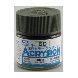 Acrysion N60 - IJA Green (Semi-Gloss/Aircraft) (N60)