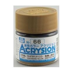 Acrysion N66 - RLM79 Sand Yellow (Semi-Gloss/Aircraft) (N66)