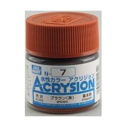 Acrysion N7 - Brown (Gloss/Primary) (N7)