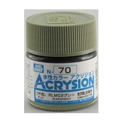 Acrysion N70 - RLM02 Gray (Semi-Gloss/Aircraft) (N70)