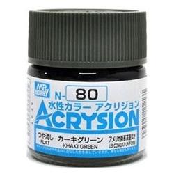 Acrysion N80 - Khaki Green (Flat/US Combat Uniform) (N80)