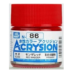 Acrysion N86 - Red Madder (Gloss/Primary) (N86)