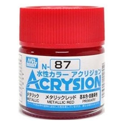 Acrysion N87 - Metallic Red (Metallic/Primary) (N87)