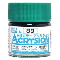 Acrysion N89 - Metallic Green (Metallic/Primary) (N89)