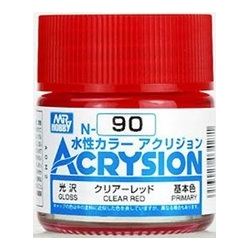 Acrysion N90 - Clear Red (Gloss/Primary)