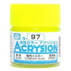 Acrysion N97 - Fluorescent Yellow (Semi-Gloss/Primary)