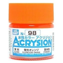 Acrysion N98 - Fluorescent Orange (Semi-Gloss/Primary)
