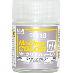 Mr. Color GX 110 - CLEAR SILVER (CLEAR)