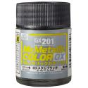 Mr. Color GX 201 - METAL BLACK (METALLIC)