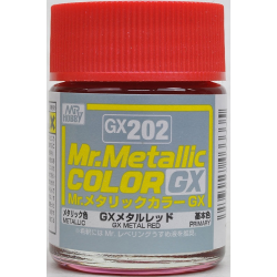 Mr. Color GX 202 - METAL RED (METALLIC)