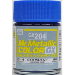 Mr. Color GX 204 - METAL BLUE (METALLIC)
