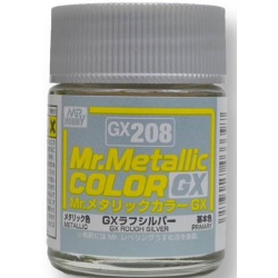 Mr. Color GX 208 - ROUGH SILVER (METALLIC)