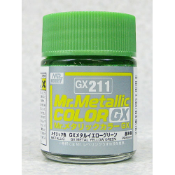 Mr. Color GX 211 - Metal Yellow Green (METALLIC)