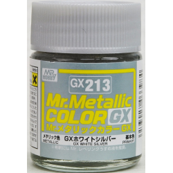 Mr. Color GX 213 - WHITE SILVER (METALLIC)
