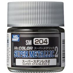 Mr. Color - Super Metallic 2 - SUPER STAINLESS 2 - (SM204)