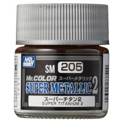 Mr. Color - Super Metallic 2 - SUPER TITANIUM 2 - (SM205)