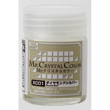Mr. Crystal Color - Diamond Silver (XC01)