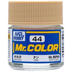Mr. Color 44 - Tan (Semi-Gloss/Ship) (C44)