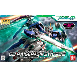 HG OO Raiser + GN Sword 1/144
