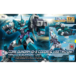HG BD:R Core Gundam (G3 Color) & Veetwo Unit (006)