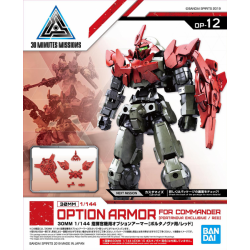 30MM - Option Armor for Commander Type (Portanova Exclusive, Red) (OP-12)