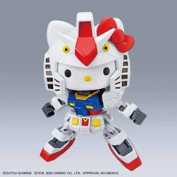 SD EX-Standard Hello Kitty x RX-78-2 Gundam PREORDER
