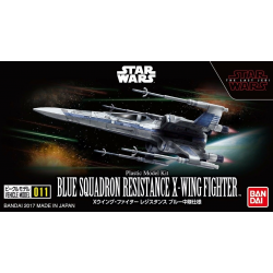 BLUE SQUADRON RESISTANCE X-WING FIGHTER (011)
