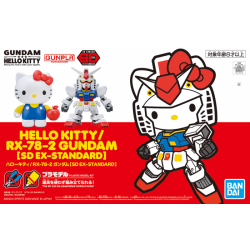 SD BB EX-Stardard Hello Kitty / RX-78-2 Gundam (TOGETHER)