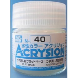 Acrysion N40 - Flat Base (Acrysion Color Additive For Flat) (N40)