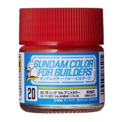 G Color - RX-78 RED VER.ANIME COLOR - (UG20)