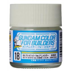 G Color - RX-78 WHITE VER. ANIME COLOR - (UG18)