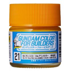 G Color - RX-78 YELLOW VER. ANIME COLOR - (UG21)