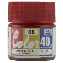 Mr. Color 40th Anniversary - BLOOD RED1 (AVC08)