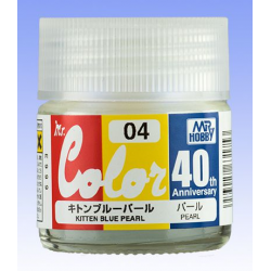 Mr. Color 40th Anniversary - KITTEN BLUE PEARL (AVC04)