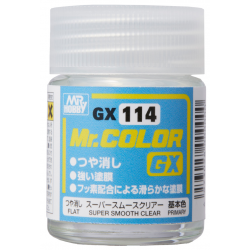 Mr. Color GX 114 - Super Smooth Clear Flat (GX114)