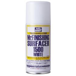 Mr.FINISHING SURFACER 1500 WHITE (SPRAY) (B529)