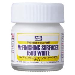 Mr.FINISHING SURFACER 1500 WHITE (BOTTLE TYPE) (SF291)
