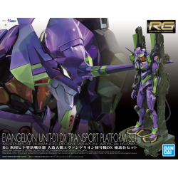 RG Evangelion Unit 01 + DX Transporter * SHIPS BY JUNE 1st*