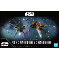 1/44 Poe's X-Wing Fighter & X-Wing Fighter (The Rise of Skywalker)