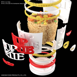 BEST HIT CHRONICLE - CUP NOODLE 1/1 *PREORDER*