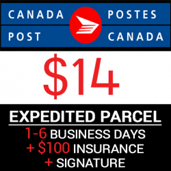 Canada Post - Expedited With Signature