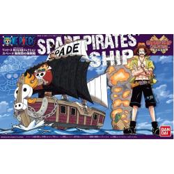 One Piece - Grand Ship Collection: Spade Pirates Ship