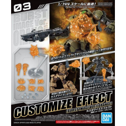 30MM - Customize Effect (Explosion Image Ver.) (Orange) (03)