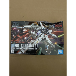HG UC Gundam F91 (167) *BOX DAMAGE*