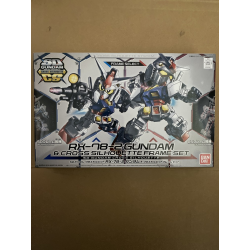 SD CS - RX-78-2 Gundam & Frame Set (00) *BOX DAMAGE*