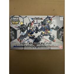 SD CS - RX-78-2 Gundam & Frame Set (00) *BOX DAMAGE*