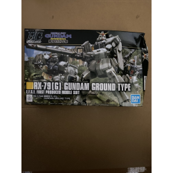 HG UC Gundam Ground Type (210) *BOX DAMAGE*