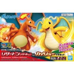 Pokemon Model Kit - Charizard & Dragonite