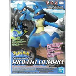 Pokemon Model Kit - Riolu & Lucario