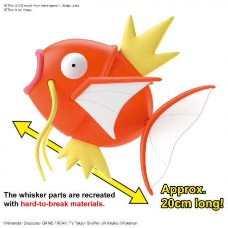 Pokemon Model Kit BIG 01 MAGIKARP *PREORDER*
